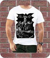 Elvis Presley The King Of Rock N Roll Men T-shirt New Black White Easter Gift