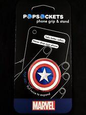 AUTHENTIC PopSockets Universal Phone Holder Marvel Captain America Pop Socket