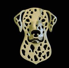 Dalmatian dog Brooch Lapel Pin-Fashion Jewellery Gold Plated, Stud Back