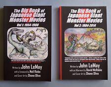 Big Book of Japanese Giant Monster Movies Vol 1 & 2 John LeMay - Kaiju Godzilla