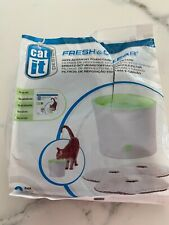 Catit Fresh and Clear Replacement Foam/ Carbon Filters, Open Pack 1 Left