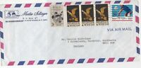 United States Register to Vote Airmail Commercial Multi Stamps Cover ref R 19126