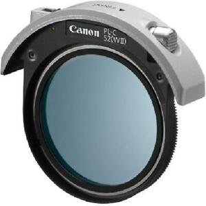 Canon PL-C 52WII 52mm Drop-In Circular Polarizing Filter for Telephoto Lens NEW