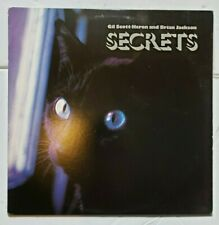 Gil Scott Heron And Brian Jackson Secrets Record Album 1978 Arista Funk Soul