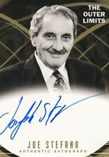 Outer Limits Premiere Joseph Stefano, Series Producer A17 Auto Card