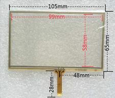 VETRO PER LCD 4,3 POLLICI GPS NAVIGATORE RESISTIVO TOUCH SCREEN GLASS