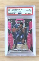 2019-20 Panini Prizm Draft Picks Cam Reddish RC #12 Pink Pulsar PSA 10 Low Pop!