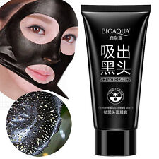 Bioaqua Blackhead Remover Mask Face Peel Off Mud Black Masks Activated Carbon UK