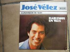 EUROVISION 1978 45 TOURS BELGIQUE JOSE VELEZ