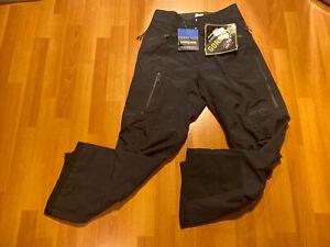 Patagonia Gore-Tex Snow Pants Ski Snowboard Men's XS Black Color New