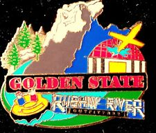 Disney California Adventure Cast Golden State Rushin River Grizzly GRR Pin DCA
