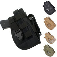 MOLLE Tactical Pistol Hand Gun Holster Utility Adjustable Airsoft Hunting Pouch