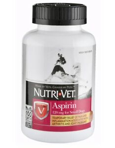 Aspirin for Small/med Dogs Chewables provide temporary relief of pain