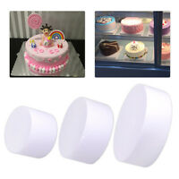 Round Polystyrene Styrofoam Foam Cake Dummy Wedding Party Decoration DIY Craft