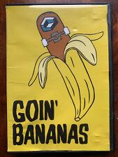 Goin' Bananas DVD Consolodated Skateboards Skateboarding Skating Rare