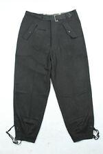WWII German WH Heer Black Wool Panzer Trousers Pants
