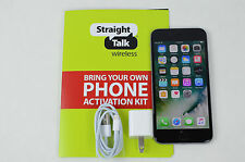 Great iPhone 6 16GB GRAY, FOR STRAIGHT TALK PREPAID WITH A SIM CARD, AT&T TOWERS