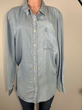 Forever 21 Women's Top Shirt Blouse Long Sleeves Button Down Size 3X