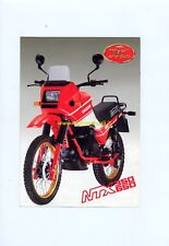 MOTO GUZZI NTX 350 650 1987 depliant ORIGINALE genuine motorcycle brochure