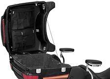 KURYAKYN BLACK LID ORGANIZER BAG FOR HARLEY DAVIDSON HARD TOUR PAK PACK HD 4134