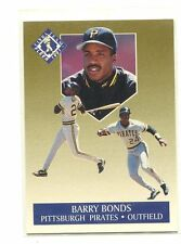 1991 Ultra Gold #1 Barry Bonds Pittsburgh Pirates