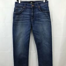 7 Seven For All Mankind Men's Jeans Size 30 Blue Luxe Performance The Straight