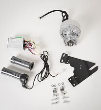 450W 24V electric motor conversion kit f bicycle rear wheel with 7 accessories