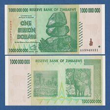 ZIMBABWE -- 1 BILLION DOLLARS  ( 2008 ) -- UNC -- AA -- PICK 83 .