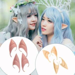 Halloween Pixie Elf Ears Fairy Vulcan Alien Cosplay Roles Play Fancy Dress Props
