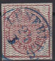 "== AD Hannover Mi. 8a gest. K1 ""Lüneburg"", gepr. BPP, Kat. 350€ =="