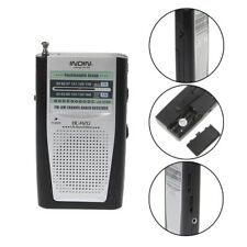 Portable Mini Slim Radio 2-Band AM/FM World Receiver Telescopic Antenna BC-R20