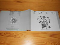 JETHRO TULL - CREST OF A KNAVE / LIMITED CHRYSALIS PRESSE-HEFT 1987
