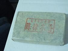 1978 Pu-erh 220 g Brick Zuncha Early Shu (Cooked) Pu-erh