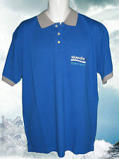 New Vintage HENRI LLOYD POLO SHIRT Cowes / Skandia 2004 Pique Blue L