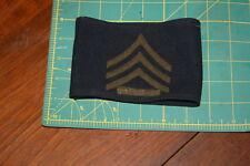 World War II Korea Sergeant Stripe Arm Band Felt on Wool