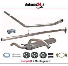 Komplette Auspuffanlage für Peugeot 107, Citroen C1, Toyota Aygo, 1.0 Auspuff