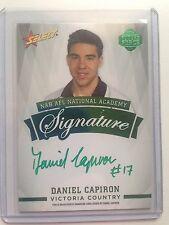 2014 Select Future Force Green Signature FFGS16 Daniel Capiron 18/40