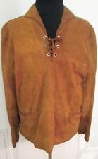 Rare 1960's Psychedelic-Era Chamois-Leather/ Suede Jerkin/ Shirt/ Jacket, Mod M