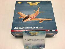 Corgi AA35806 Canadair CL-13A Sabre Mk.5 RAF 'Golden Hawks' 0001 of 2180