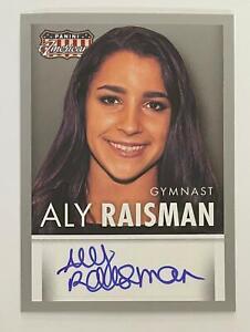 2015 Panini Americana Aly Raisman AUTO Autograph Card Olympics Gymnast