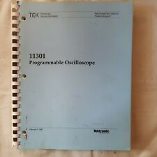 Tektronix 11301 Programmable Oscilloscope Preliminary Service Manual