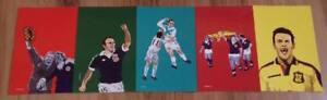 Scotland Football Postcards (Set of 5) Scotland Epistles Football Magazine