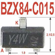 50 Stück BZX84C15 ZENERDIODE SMD 15V 0,3W Philips