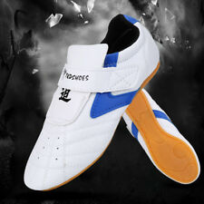 Non-slip Pu Leather TaeKwondo Shoes Martial Arts Boxing Competition 2 Colors Mf