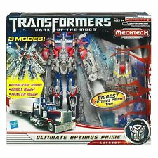Brand New Hasbro Transformer ULTIMATE OPTIMUS PRIME Dark of the Moon in 3 Modes