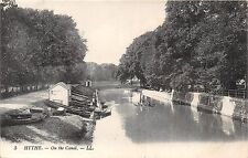 POSTCARD    KENT    HYTHE  On  the  Canel   LL