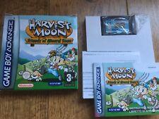 Harvest Moon amigos de Mineral Town Gameboy Advance Juego! completa!
