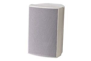 Aktiv HiFi-Lautsprecher, 2-Wege, Bassreflex WHD Mini 4-AMP, weiß