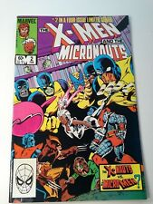 X-Men and the Micronauts  #2 in a 4 Issue Limited Series February 1984