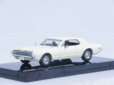 1/43 Scale model 1967 Mercury Cougar - Polar White